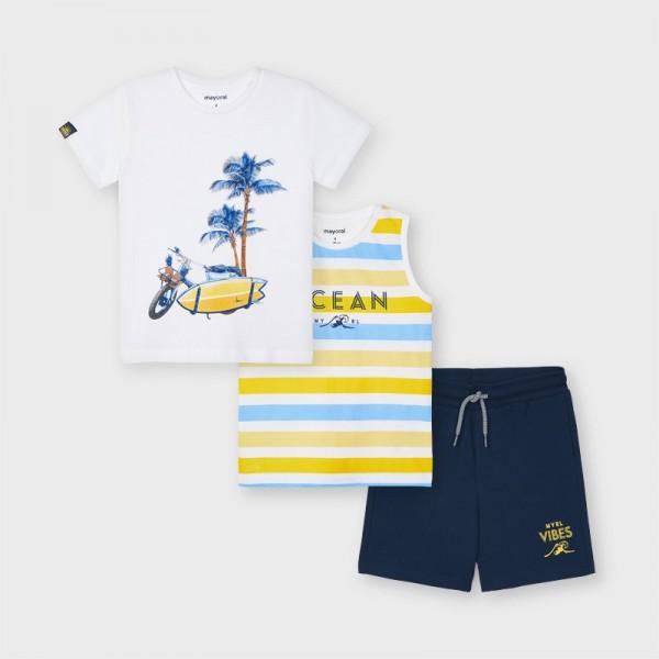 Комплект с 2 тениски и бермуди