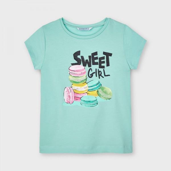 Тениска Ecofriends със ситопечат за момиче