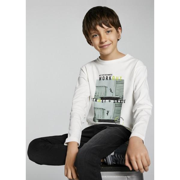 Блуза ECOFRIENDS  за момче Workout -тийн серия