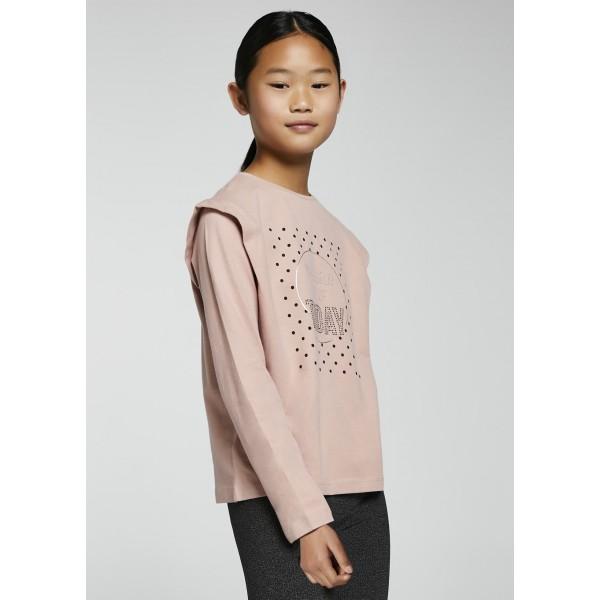 Блуза Today с къдрички на раменете за момиче