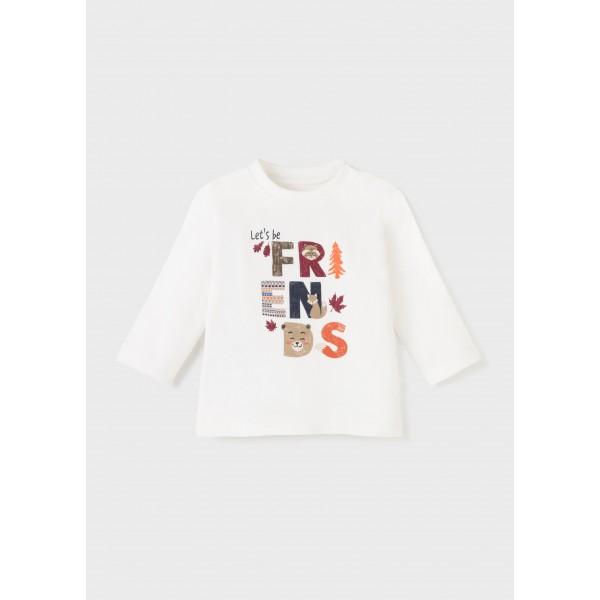 Блуза ECOFRIENDS  friends за бебе момче