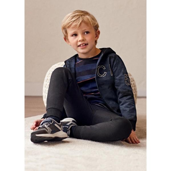 Анцуг от 2 части със суичър в камуфлажен цвят за момче