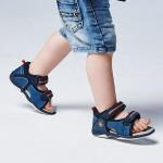 Комбинирани отворени сандали за бебе