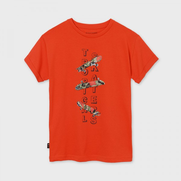Тениска с къс ръкав от памук ECOFRIENDS