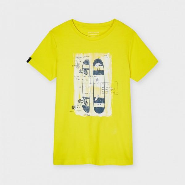 Тениска skate ECOFRIENDS с къс ръкав за момче-тийн серия