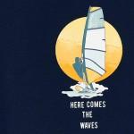 Тениска windsurf с къс ръкав ECOFRIENDS