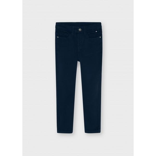 Дълъг основен панталон slim fit за момче