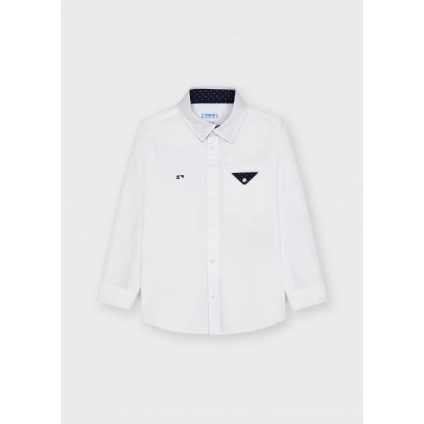 Елегантна риза ECOFRIENDS с дълъг ръкав за момче