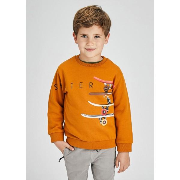 Ватирана блуза skater за момче