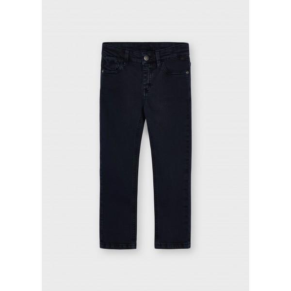Дълъг панталон skinny fit от туил с 5 джоба за момче
