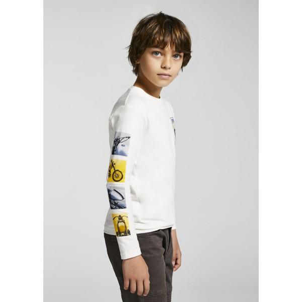 Блуза ECOFRIENDS с мотор за момче