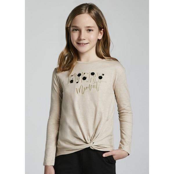 Блуза с възел Every за момиче