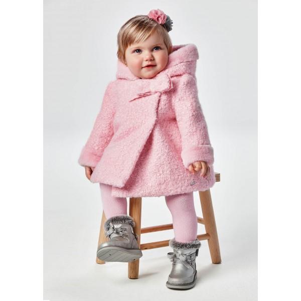 Елегантно палто  за бебе момиче