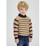 Пуловер на райета за момче