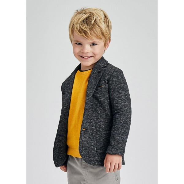 Елегантно трикотажно сако за момче