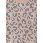 Пуловер с леопардови мотиви за момиче - тийн серия