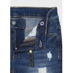 Дълъг панталон denim straight fit за момче- тийн серия