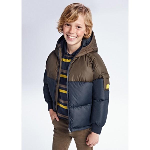 Зимно яке colour block за момче
