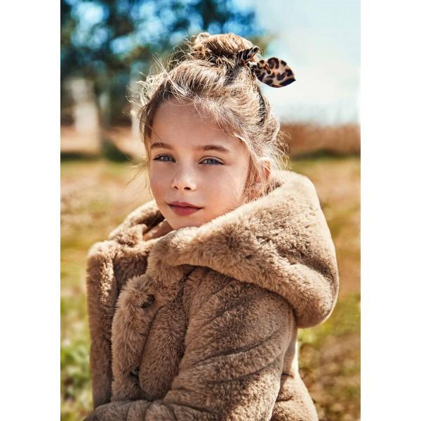 Палто от косъм за момиче
