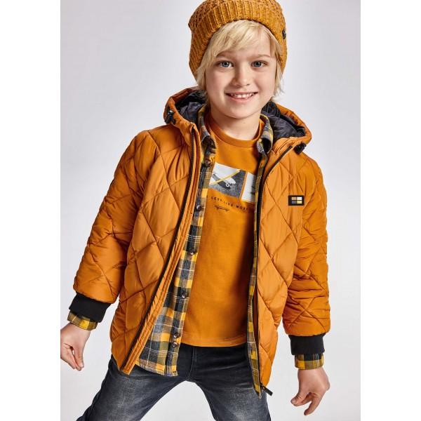 Есенно яке на ромбове за момче