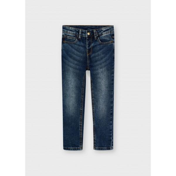 Дънков панталон slim fit за момче