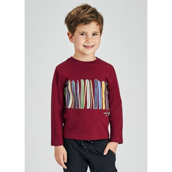Блуза ECOFRIENDS с  принт лента за момче