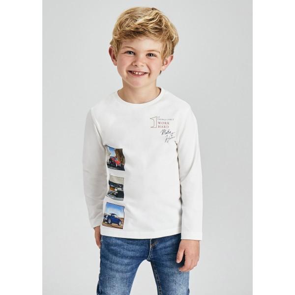 Блуза ECOFRIENDS със  снимки коли за момче