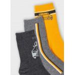 Комплект от 3 чифта чорапи с кола за момче