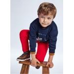 Основен панталон regular fit с 5 джоба за момче
