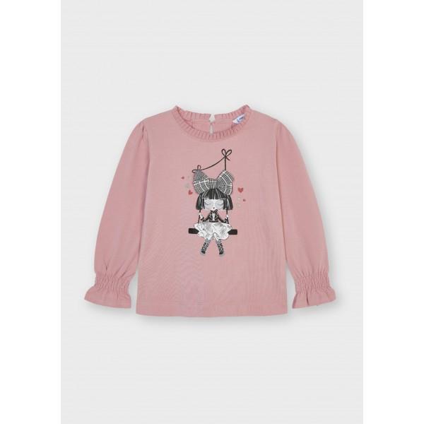 Блуза ECOFRIENDS Cute и кукла за момиче