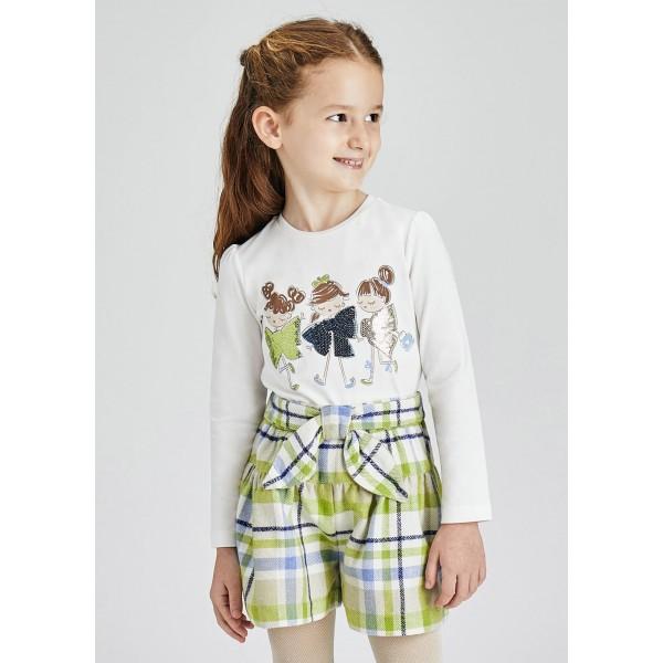 Блуза ECOFRIEND с  кукли с панделки за момиче