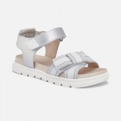 Спортни сандали с велкро за момиче