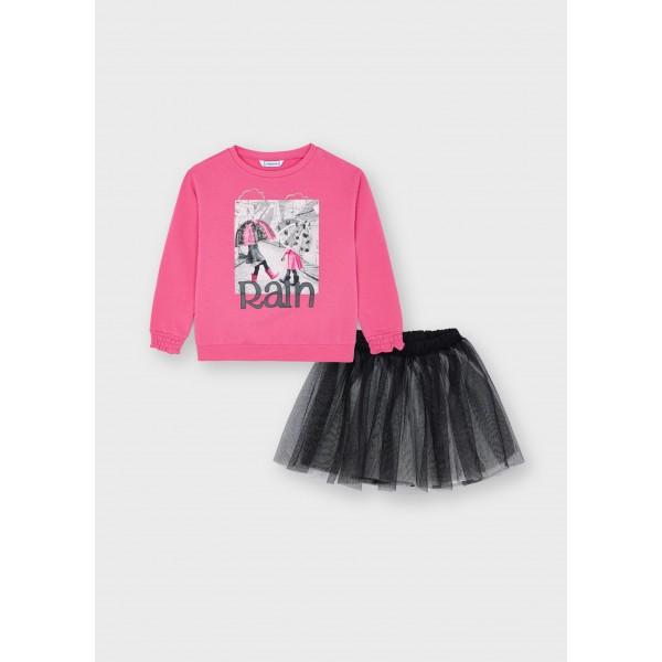 Комплект RAINс пола от тюл за момиче