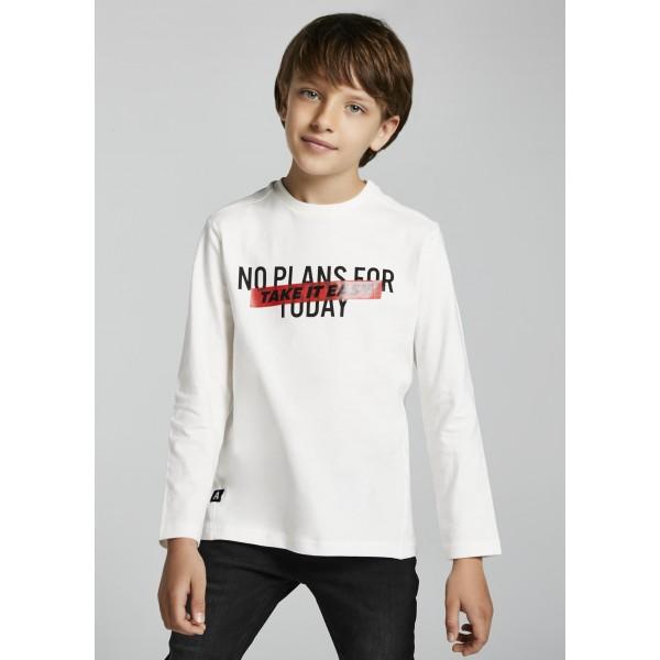 Блуза с послание за момче