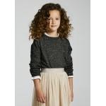 Пуловер с метални нишки за момиче