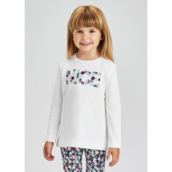 Блуза ECOFRIENDS с апликация за момиче